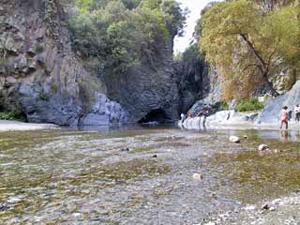 Alcantara River and his valley
