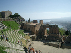 Greak theatre of Taormina